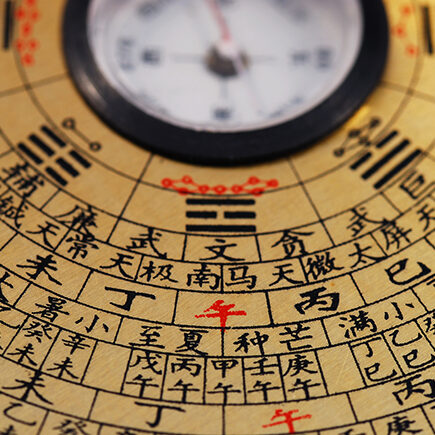 Chinese Feng Shui compass